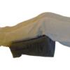 Resting legs on Laptop Easel